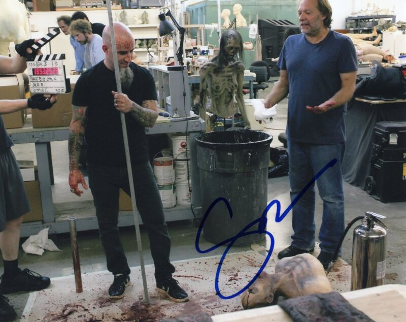 Gregory Nicotero The Walking Dead Signed 8x10 Photo w/COA Director #15