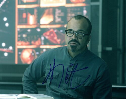 Jeffrey Wright Signed Autographed 8x10 Photo WESTWORLD THE HUNGER GAMES COA