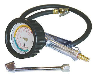 Güde 2752 Reifenfüller Profi Luftdruckprüfer bis 11 bar großes Manometer