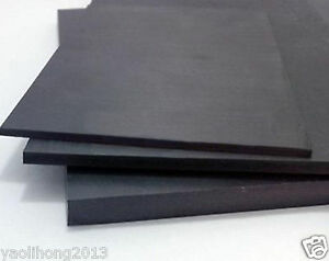 5x200x300mm PVC Sheet Black Color Construction model material wall foam board