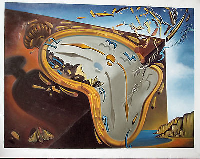 Ölbilder Ölgemälde Gemälde Soft Watch von Salvador Dali  60 x 80cm