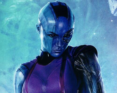Karen Gillan Signed 8x10 Photo Doctor Who Guardians of the Galaxy Sexy COA VD