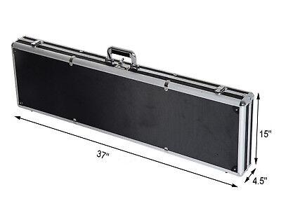 -  Carbine/Shotgun Short Hard Case Aluminum Framed Combination Lock Safe Storage