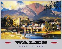 País De Gales, Galés,castillo,snowdonia,occidental Ferrocarril,grande De Metal/ -  - ebay.es
