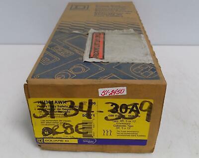 Square D Heavy Duty Safety Switch Hu361awk Series F06 Nib