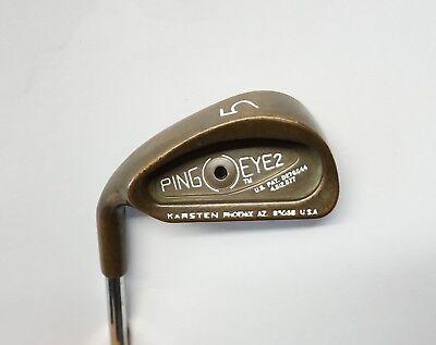 Golfschläger & -ausrüstungsartikel Ping Eye 2 Black Dot BeCu Beryllium Copper 9 Iron Stiff Steel Shaft