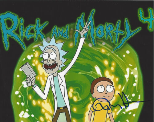 DAN HARMON - RICK AND MORTY CREATOR - SIGNED AUTOGRAPHED 8X10 PHOTO COA PROOF