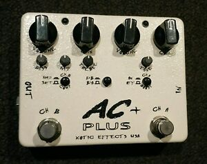 XOTIC AC PLUS OVERDRIVE PEDAL Margate Redcliffe Area Preview
