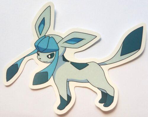 Glaceon - Pokemon Vinyl Sticker - Eeveelution