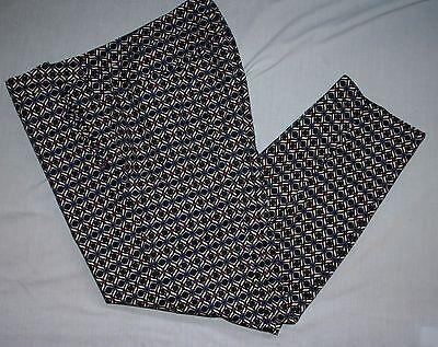 Adrianna Pappel Hose 12/14 Petite Art Déco Aufdruck Hosen Geometrisch - Petite Hose Hosen