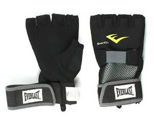 Everlast Evergel XL Hand Wraps Black
