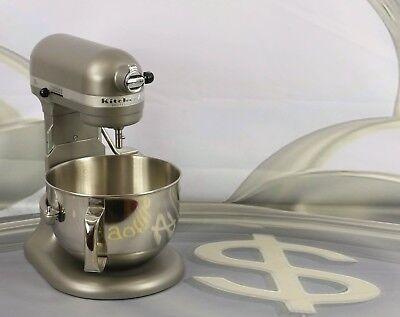 KitchenAid RKP26M1XSL Professional 600 6-Qt. Bowl Stand Mixer Silver New