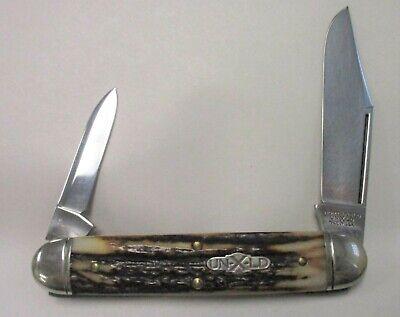 NORTHFIELD UN-X-LD TWO BLADE CUBAN 531213 2ND POCKET KNIFE