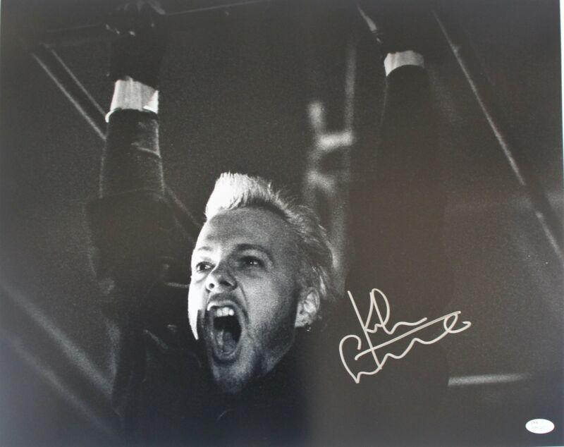 Kiefer Sutherland Autograph 16x20 Photo The Lost Boys Signed JSA COA Z2