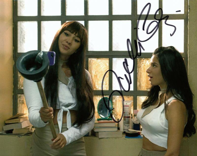 JACKIE CRUZ signed (ORANGE IS THE NEW BLACK) 8X10 Marisol Flaca Gonzales COA #5