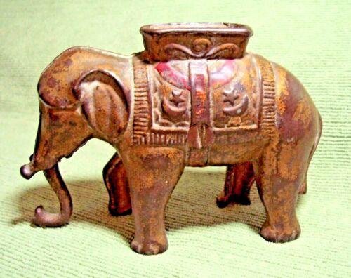 Antique (c. 1910) A.C. Williams Mechanical Elephant Coin Bank - Original
