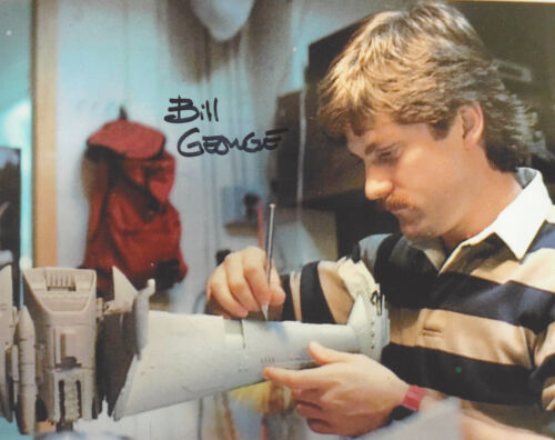 BILL GEORGE STAR WARS SPECIAL EFFECTS SIGNED AUTHENTIC 8X10 PHOTO LUCASFILM COA
