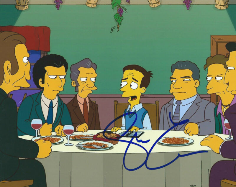 **GFA The Simpsons *STEVE CARELL* Signed 8x10 Photo MH1 COA**