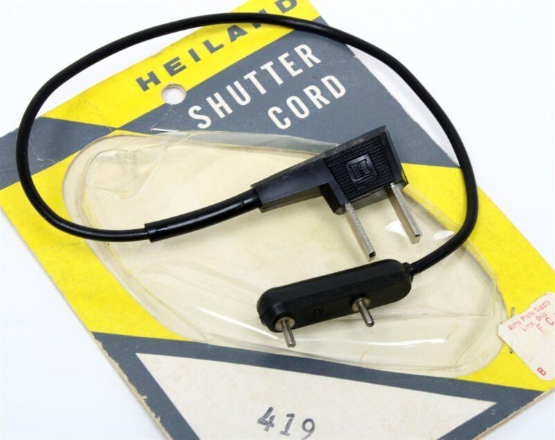 HEILAND SHUTTER/FLASH CORD #419 61-1 STANDARD HOUSEHOLD TO ARGUS C-3 NOS