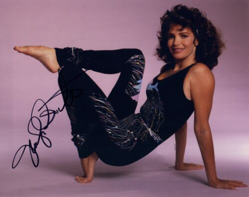 Jaclyn Smith Signed Autographed 8x10 Photo Charlie's Angels Actress COA