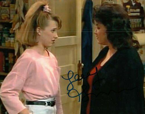 ALICIA GORANSON signed (ROSEANNE) TV Show 8X10 photo *Becky Conner* W/COA #2