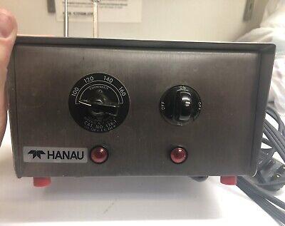 Teledyne Hanau Low Temp. Dental Water Bath Model 138-1 With Original Thermometer
