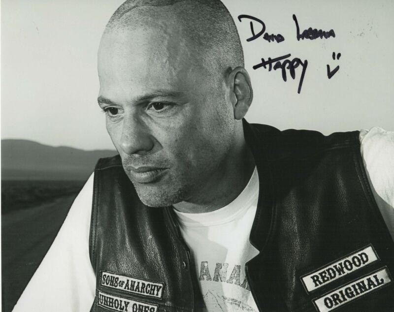 David Labrava Autograph 8x10 Photo SOA Sons of Anarchy Happy Picture COA