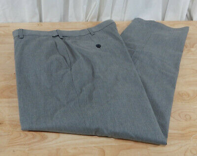 NWT Men's Haggar Premium Classic Fit No Iron Twill Pants w/Hidden Comfort Waist