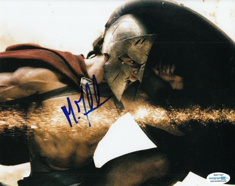 MICHAEL FASSBENDER signed (300) Movie 8x10 autographed photo *Stelios* ACOA