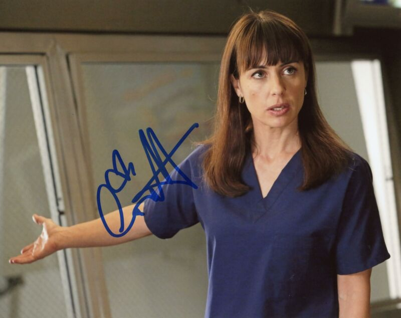 "Constance Zimmer ""Grey's Anatomy"" AUTOGRAPH Signed 8x10 Photo B ACOA"
