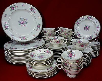 HAVILAND china NEW York ARLINGTON pattern 79-piece SET cup dinner salad fruit + Arlington China