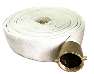 2-12 X 50 Feet Single Jacket Polyester Rubber Lined Fire Hose - 300psi Test