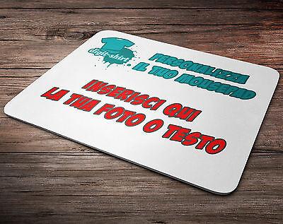 Tappetino mouse pad personalizzato pc gaming laptop desktop pubblicità gadget
