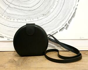 COS over the shoulder black purse