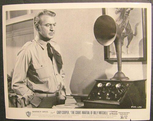 Gary Cooper, The Court Martial of Billy Mitchell,408-33, original,Warner Bros.