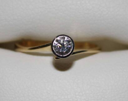 Engagement and wedding ring set Womens Jewellery Gumtree