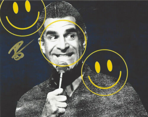COMEDIAN TODD GLASS SIGNED AUTHENTIC STAND UP COMEDY 8X10 PHOTO B w/COA ACTOR