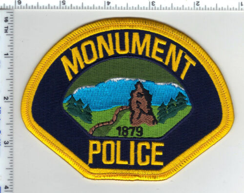 Monument Police (Colorado) Shoulder Patch - new from 1997