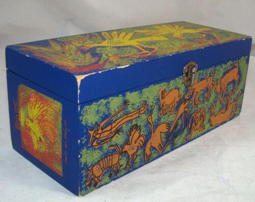Jose Cuervo Tequila Reserva Familia Wooden Art Box Luis Zarate Coleccion 2002