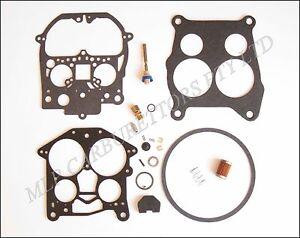 Holden HT, HG, HQ, HJ, LH V8 Rochester Quadrajet Carburettor Kit