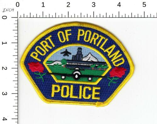 PORT OF PORTLAND POLICE SHOULDER PATCH OREGON OR