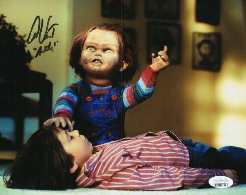 """Alex Vincent Autograph Signed 8x10 Photo - Child's Play """"Andy"""" (JSA COA)"""