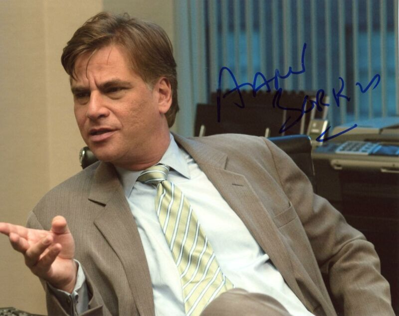 """Aaron Sorkin """"The West Wing"""" Creator AUTOGRAPH Signed 8x10 Photo"""