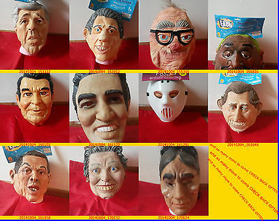 HALLOWEEN MASK ALL mad scientes FROM FAMOS PEOPLE 2THE DARNEST KIDS MASK@ADULTSL