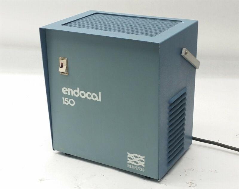 Neslab Endocal 150 Lab Flow Thru Threw Cooler Chiller 115V 60Hz 1PH 3A 01189-23
