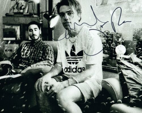 Jagwar Ma Signed Autographed 8x10 Photo Gabriel Winterfield & Jono Ma COA VD