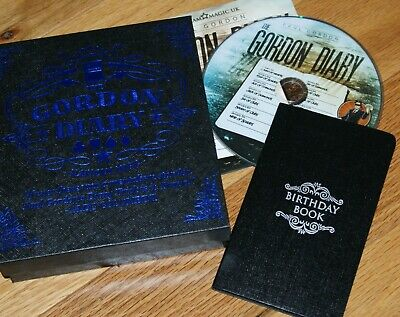 Gordon Diary deluxe version w/ DVD --maybe the best Datebook trick ever