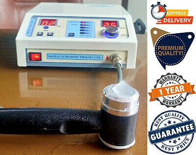 New 1mhz Ultrasound Therapy Machine For Knee Back Pain Therapy Original Unit