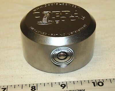 Cobra Puck Lock With A Tubular Lock And 2 Keys - High Security - New