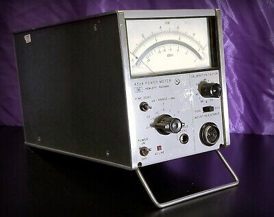 Hp Hewlett Packard 432a Power Meter